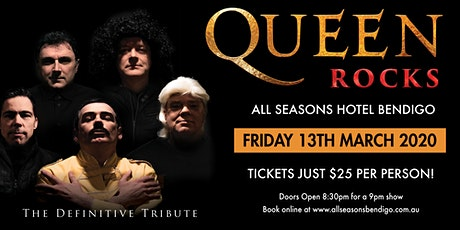 Queen Rocks, The Definitive Tribute tickets