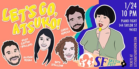 Let's Go Atsuko: A (woke) Japanese Game Show tickets