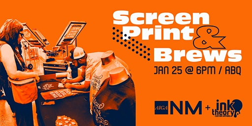 Screen Print & Brews with Ink Theory
