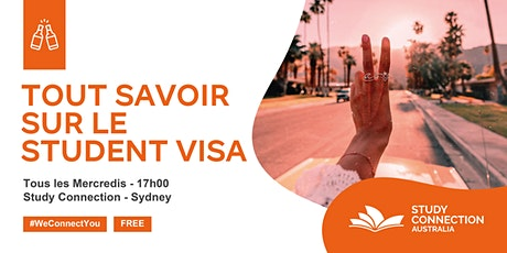 STUDENT VISA SESSION / APERITIF OFFERT billets