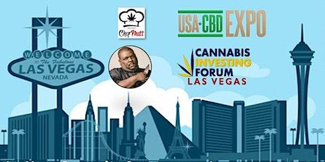 USA CBD Expo Las Vegas & Chef Matt Mansion Party & Cannabis Investing Forum tickets