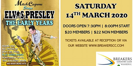 Elvis Presley - The Early Years tickets