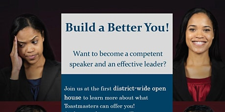 District 27 Toastmasters Open House tickets