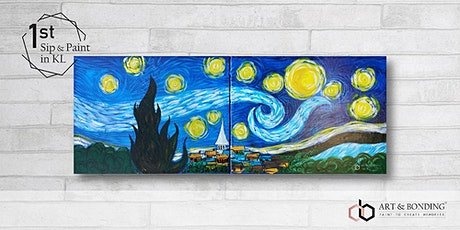 Sip & Paint Date Night : Starry Night by Van Gogh tickets