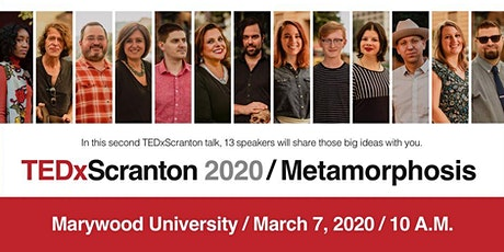 TEDxScranton 2020 | Metamorphosis tickets