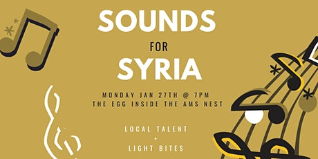 Sounds for Syria tickets
