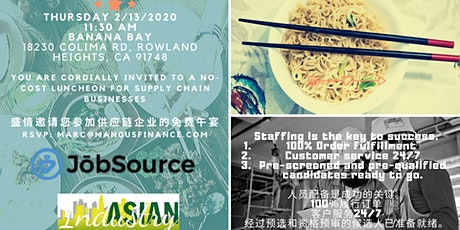AIB2B/JobSource Luncheon (for Supply Chain Businesses ONLY) tickets