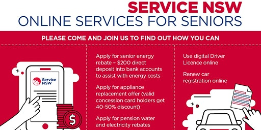 Service NSW Online Services for Seniors
