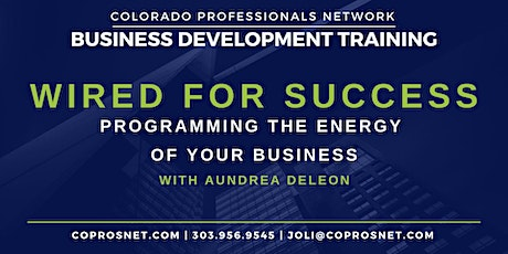 Wired for Success with Aundrea DeLeon tickets