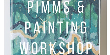 Pimms & Painting Workshop tickets