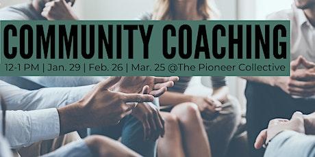 Community Coaching tickets