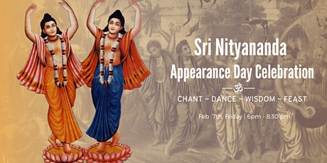 Sri Nityananda Appearance Day Celebration tickets