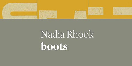 Book Launch: boots by Nadia Rhook (UWAP Poetry) tickets