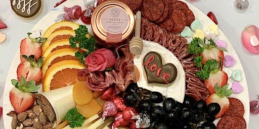 Valentine's Day Cheese and Wine
