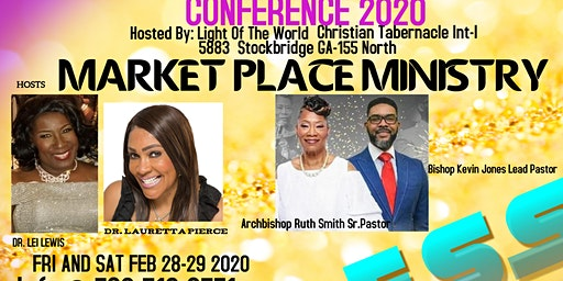 "THE 2020 MARKETPLACE MINISTRY CONFERENCE - ""RESTORING WHAT THE CANKERWORM TOOK"" BRIDGING THE CHURCH THE MARKETPLACE  AND THE COMMUNITY."