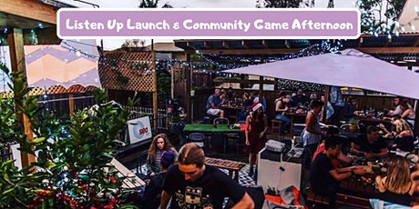 Listen Up Launch & Community Game Afternoon tickets