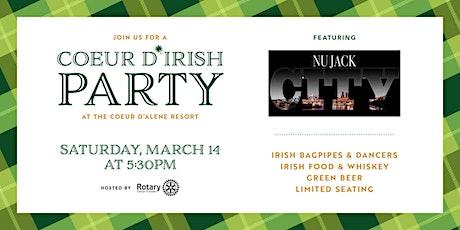 Coeur d'Irish Party 2020 tickets