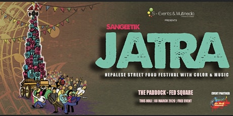JATRA-Nepalese Street Food Festival with Music & Color tickets