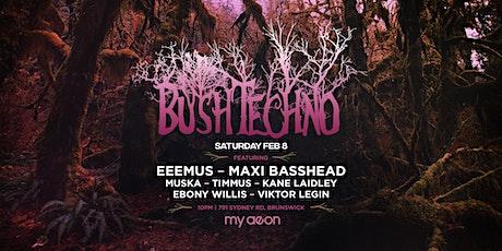 Bushtechno 8.0 tickets