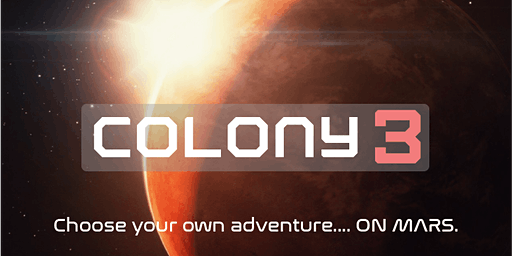 Colony 3 Mars Comedy Improv Show -Double Header-