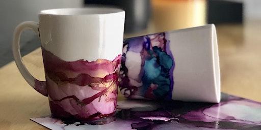 Marbled Mugs Workshop