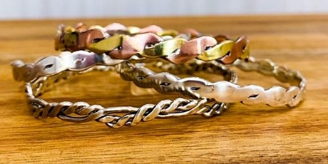 Introduction to Metal smithing - Make your own 925 sterling silver bangle, BRISBANE tickets