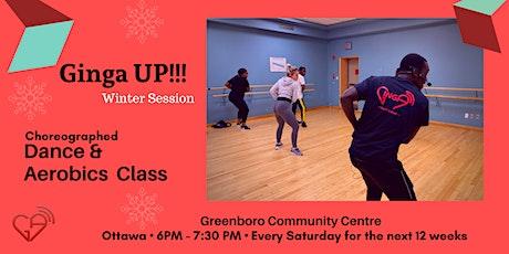 Ginga UP! - Choreographed Dance and Aerobics Class tickets