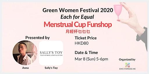 Green Women Funshops: Menstrual Cup workshop