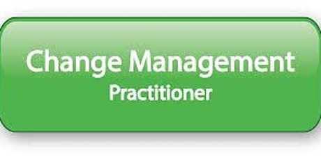 Change Management Practitioner 2 Days Virtual Live Training in Christchurch tickets
