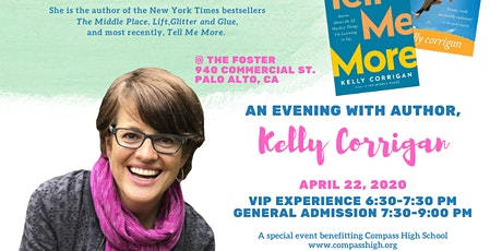 An Evening with Kelly Corrigan tickets