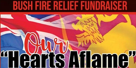 Hearts Aflame Bushfire Fundraising Dinner tickets