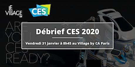Débrief CES 2020 billets