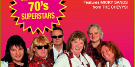 The Sensational 70's Tribute featuring Mickey Sands from the Chevys tickets