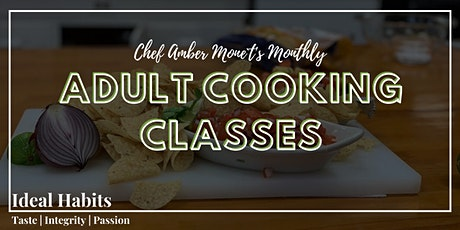 Monthly Adult Cooking Classes: Crab Cakes and Sauces tickets