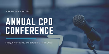 Orana Law Society Annual CPD Conference tickets
