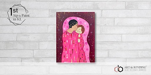 Sip & Paint Night : The Kiss Valentine Edition by Klimt