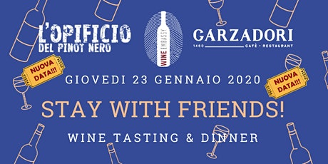 Stay with Friends! Marco Buvoli @ Garzadori 23.01.2020 biglietti