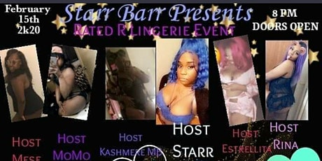 Starr Barr Rated R Lingerie Event tickets