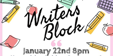 Writers' Block tickets
