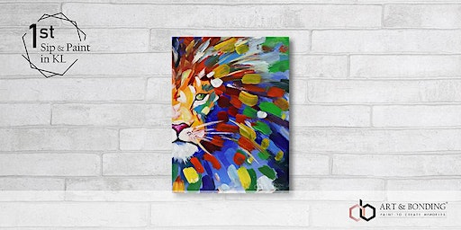 Sip & Paint Night : Abstract Lion