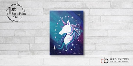 Sip & Paint Night : Unicorn Magic tickets