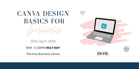 Canva Design for Beginners  | with Dash of Milk Agency tickets