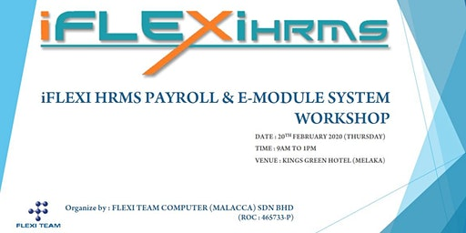 iFLEXI HRMS PAYROLL & E-MODULE SYSTEM WORKSHOP