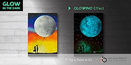 Glow Sip & Paint : Glow - Moon Balloon tickets