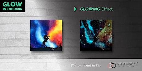 Glow Sip & Paint : Glow - Galaxy Unicorn tickets