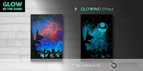 Glow Sip & Paint : Glow - Batman tickets
