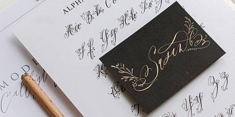Modern Calligraphy  Workshop 101 - March 14  2020 Victoria, BC tickets