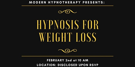 Hypnosis for Weight Loss (Free) tickets