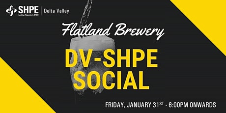 DV SHPE's Flatland Brewery Social tickets