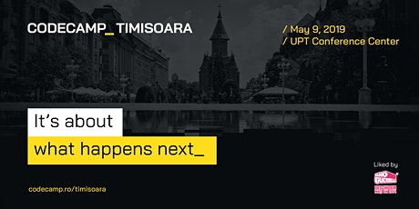 Codecamp Timisoara, 9 May 2020 tickets